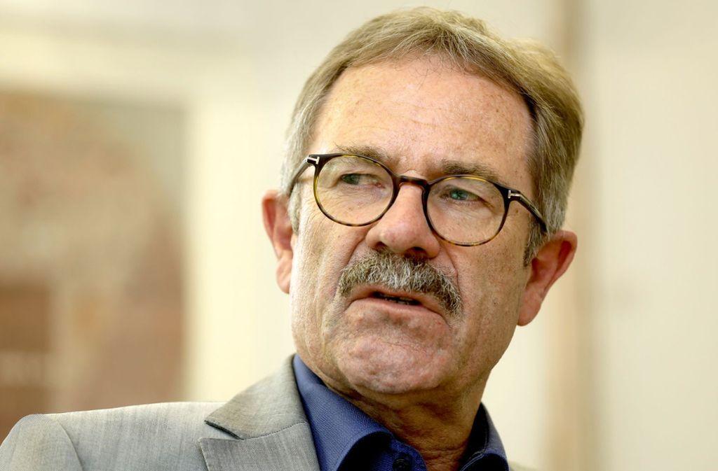Konrad Seigfried ist seit 2006 Sozialbürgermeister in Ludwigsburg – und vertritt den OB bei Abwesenheit. Foto: factum/