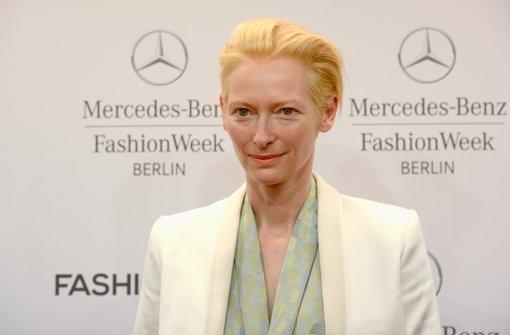 Tilda Swinton ist Gesicht der Modewoche