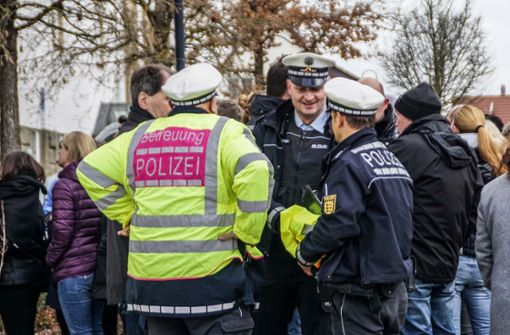 Schüler bedanken sich rührend bei der Polizei