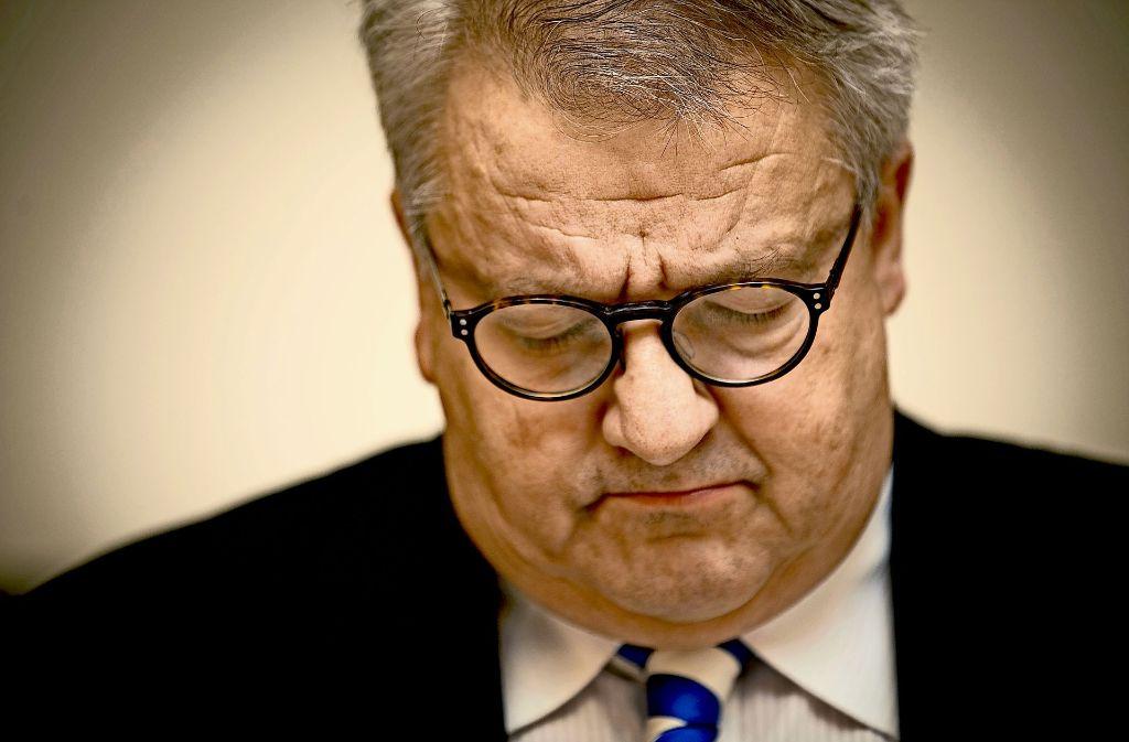 Für den AfD-Stadtrat Eberhard Brett ist das Urteil ein Tiefschlag. Foto: Lichtgut/Leif Piechowski