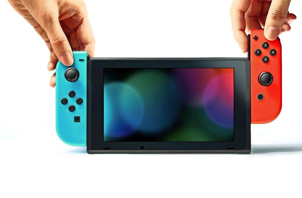 Die neue Nintendo Switch bietet vielfältigere Einsatzmöglichkeiten als ihre Vorgängerin. Foto: Hersteller