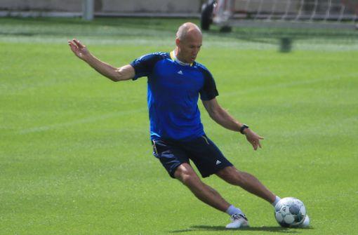 Arjen Robben arbeitet an seinem Comeback