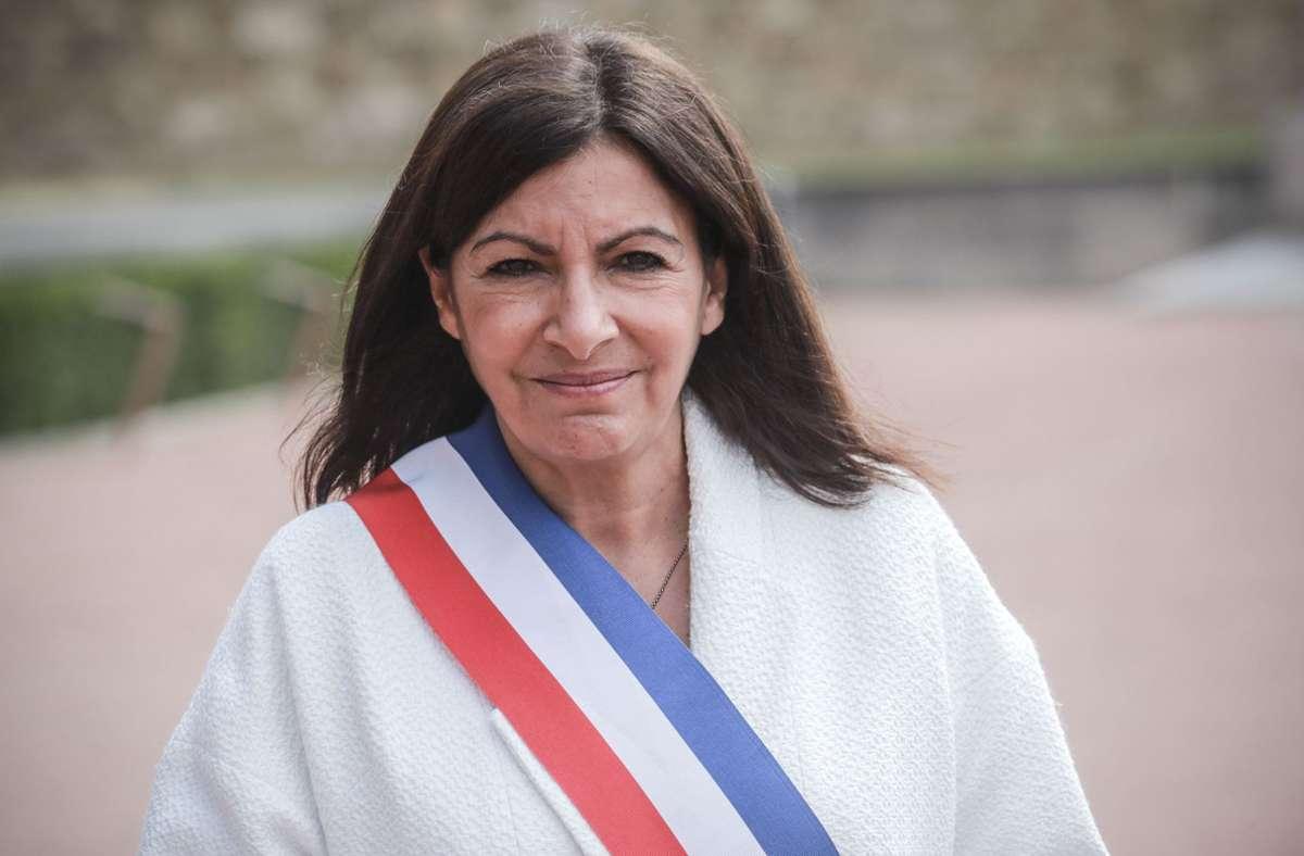 """Anne Hidalgo, Bürgermeisterin von Paris,  hatte die Strafe als """"offensichtlich absurd"""" bezeichnet. Foto: AFP/LUDOVIC MARIN"""