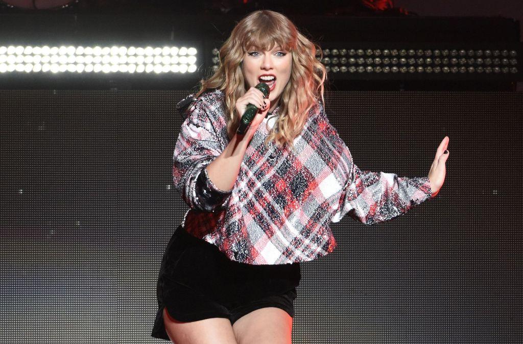"""Auch Taylor Swift kommt auf das Titelbild der aktuellen """"Time""""-Ausgabe. Foto: Getty Images North America"""