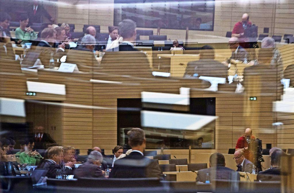 Sitzung des NSU-Untersuchungsausschusses im Landtag von Baden-Württemberg Foto: dpa