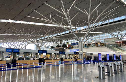 Flughafen stellt sich auf länger anhaltende  Ausnahmesituation ein