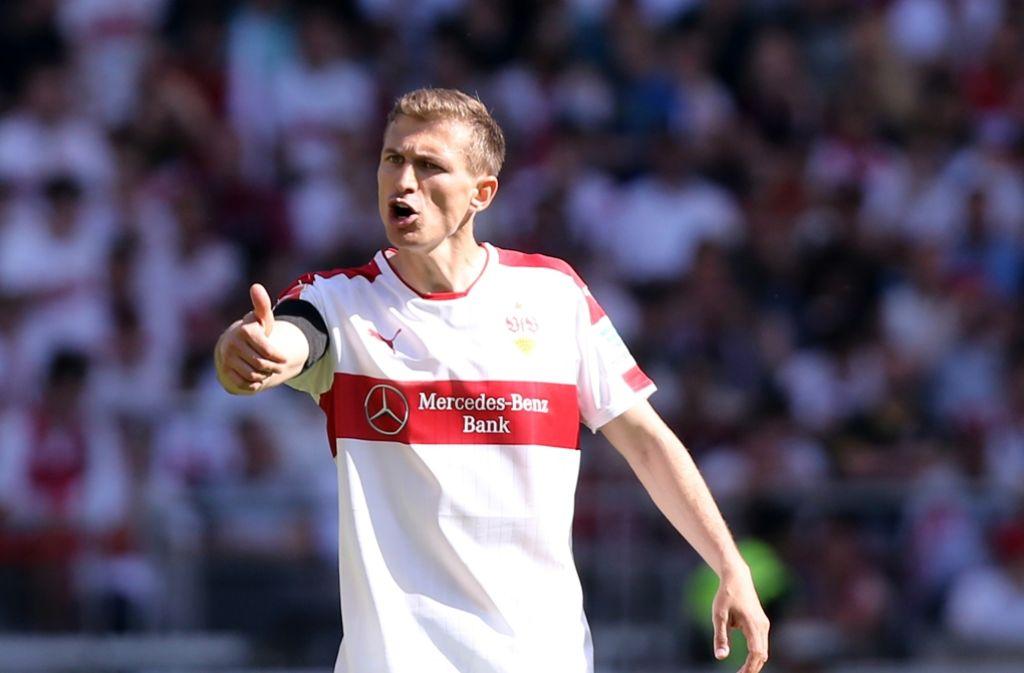 Daniel Schwaab wechselt vom VfB Stuttgart zum PSV Eindhoven. Foto: Pressefoto Baumann