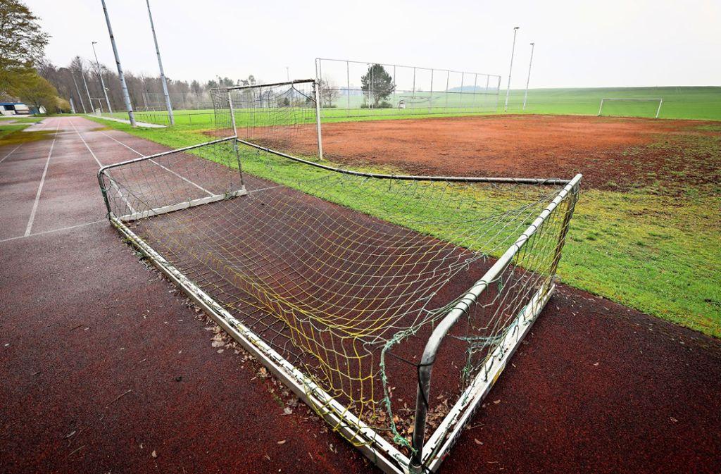 Das Sportgelände bedarf ohnehin einer Erneuerung. Foto: factum/Simon Granville