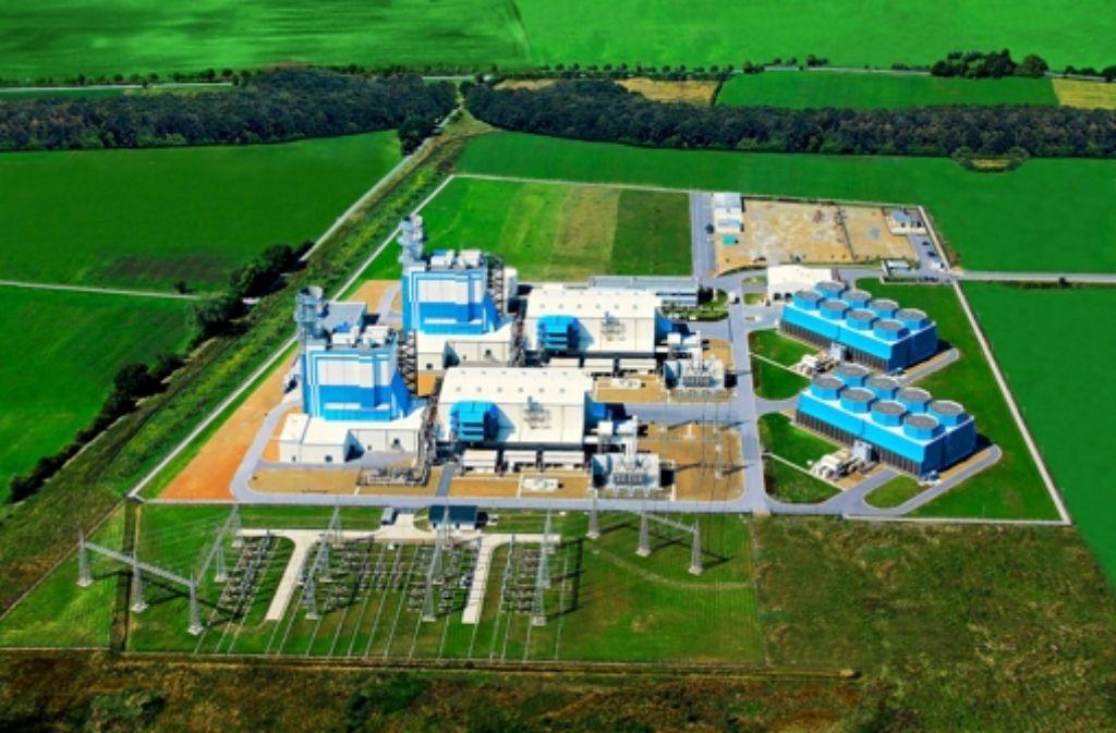 So soll das Gas- und Dampfturbinenwerk in Leipheim aussehen. Im Jahr 2018 soll es in Betrieb gehen. Foto: Stadtwerke Ulm