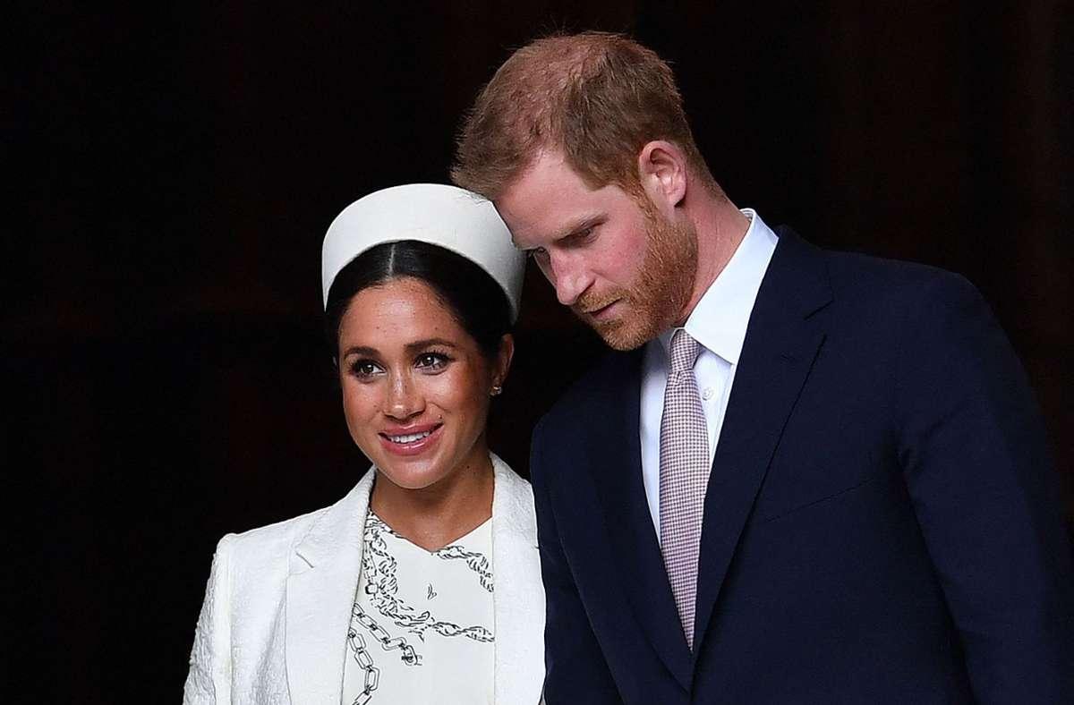 Prinz Harry (36) werde aus den USAanreisen, sagte ein Palastsprecher am Samstag. Foto: AFP/BEN STANSALL