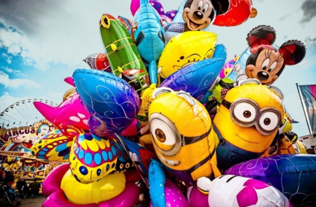 Wenn sie nur aus Plastikfolie bestehen,  sind die Figuren harmlos. Foto: Lg/Max Kovalenko