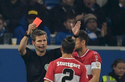 Rot für Emiliano Insua – harter Schlag für den VfB