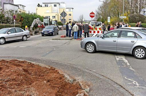 Baubeginn nach langer Wartezeit für die Sanierung der Ditzinger Straße