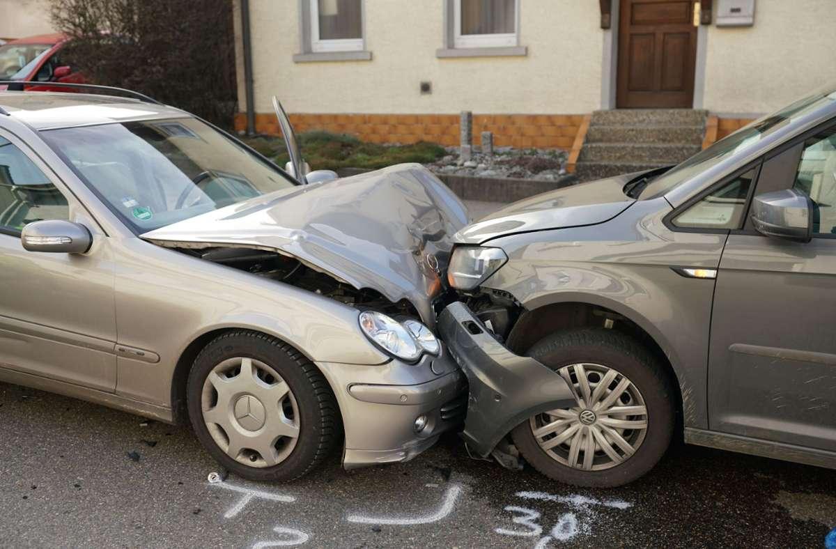 Der Unfall ereignete sich in Albershausen. Foto: SDMG//Woelfl