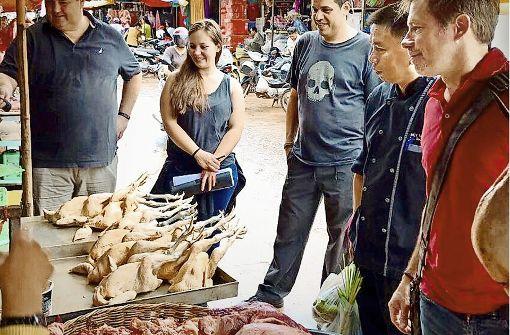 Kombi-Küche in Laos und Kambodscha