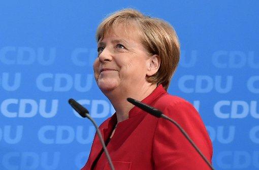 Merkel will die gesamte Amtszeit antreten