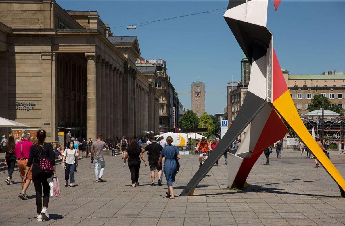 Sommer in Stuttgart Foto: Lichtgut/Leif Piechowski