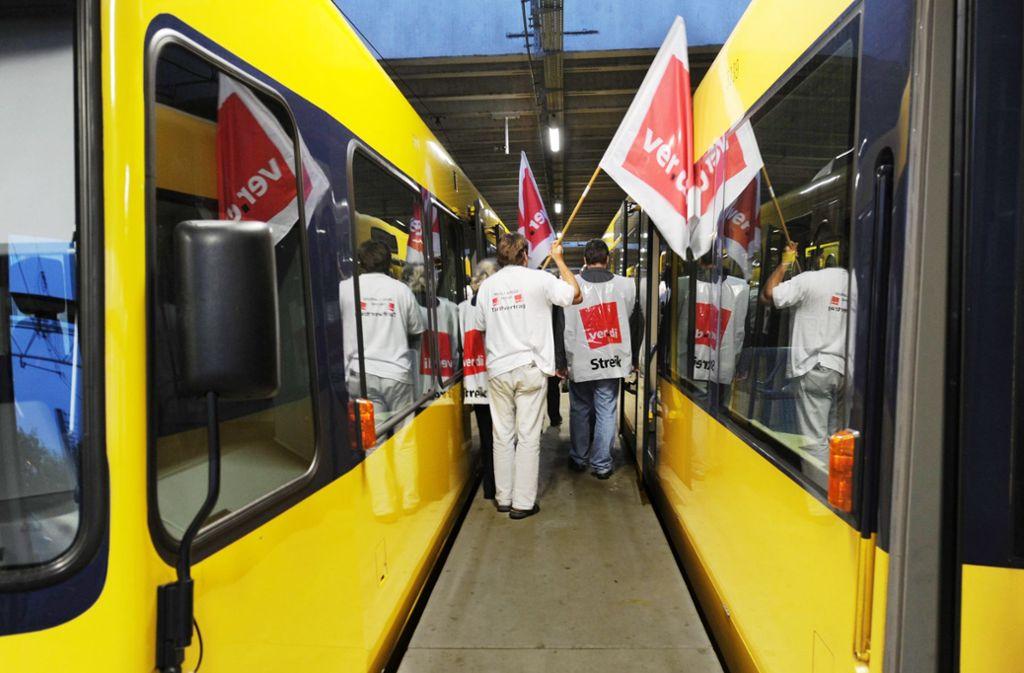 Die Gewerkschaft hat für diese Woche Streiks angekündigt. Foto: dpa-Symbolbild