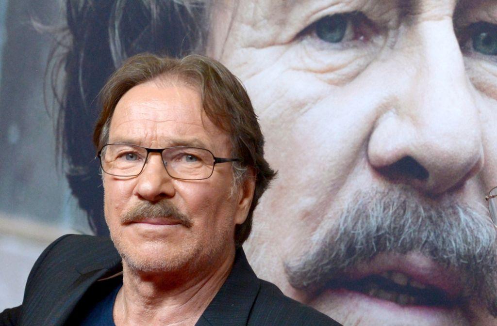 Götz George war vor allem für seine Rolle als Horst Schimanski bekannt. Foto: dpa