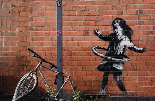 Neues Kunstwerk von Banksy in Großbritannien aufgetaucht