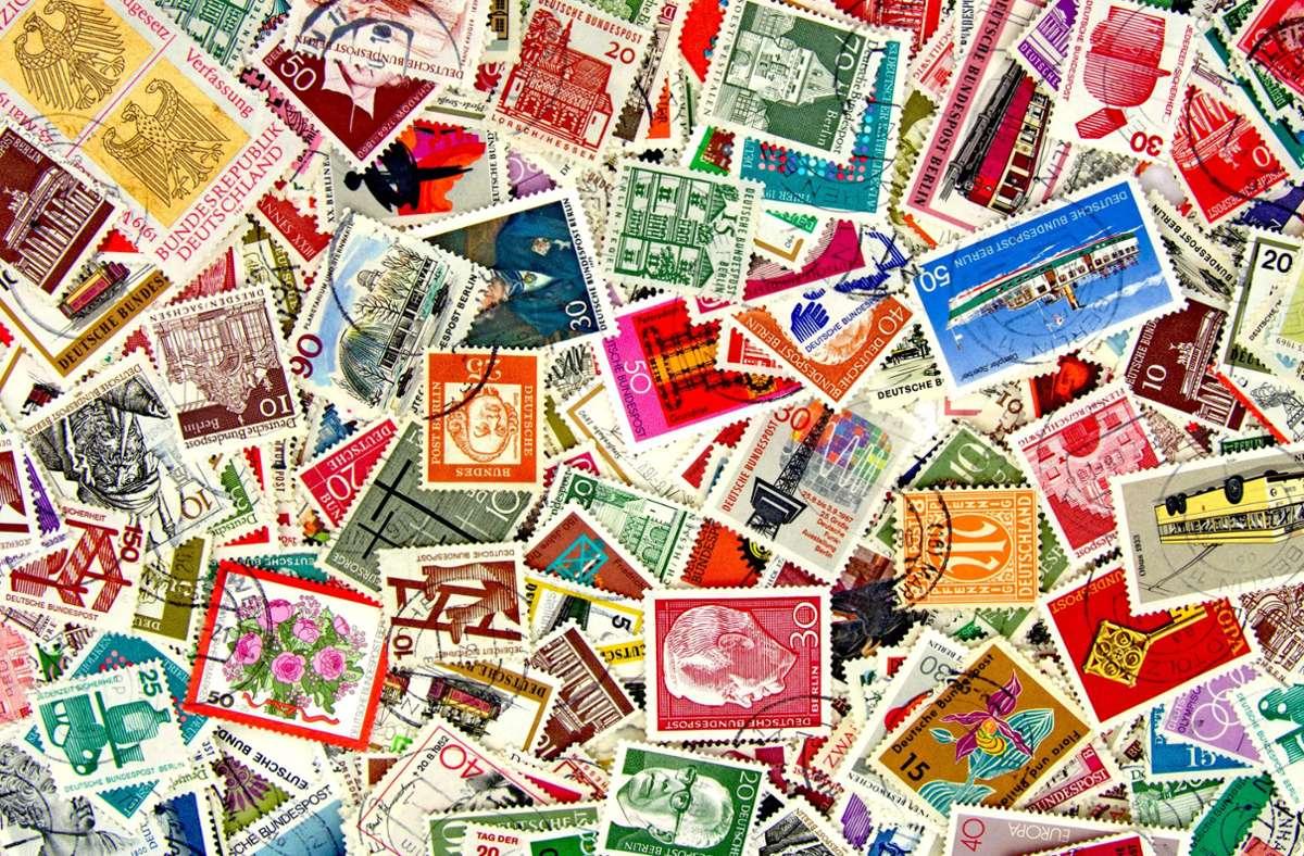 Briefmarken sind bei Sammlern sehr  beliebt. Foto: Adobe Stock/M. Schuppich