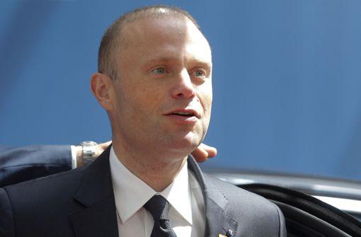 Maltas Premierminister kündigt Rücktritt für Januar an