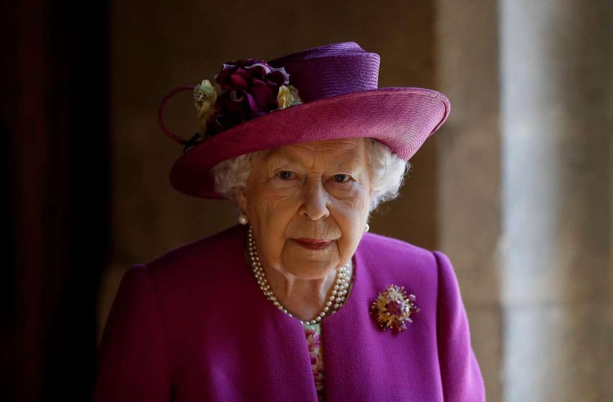 Die Queen verlor erst vor wenigen Tagen ihren Ehemann, Prinz Philip. Ihren Geburtstag begeht Sie daher in aller Stille. Foto: AFP/KIRSTY WIGGLESWORTH