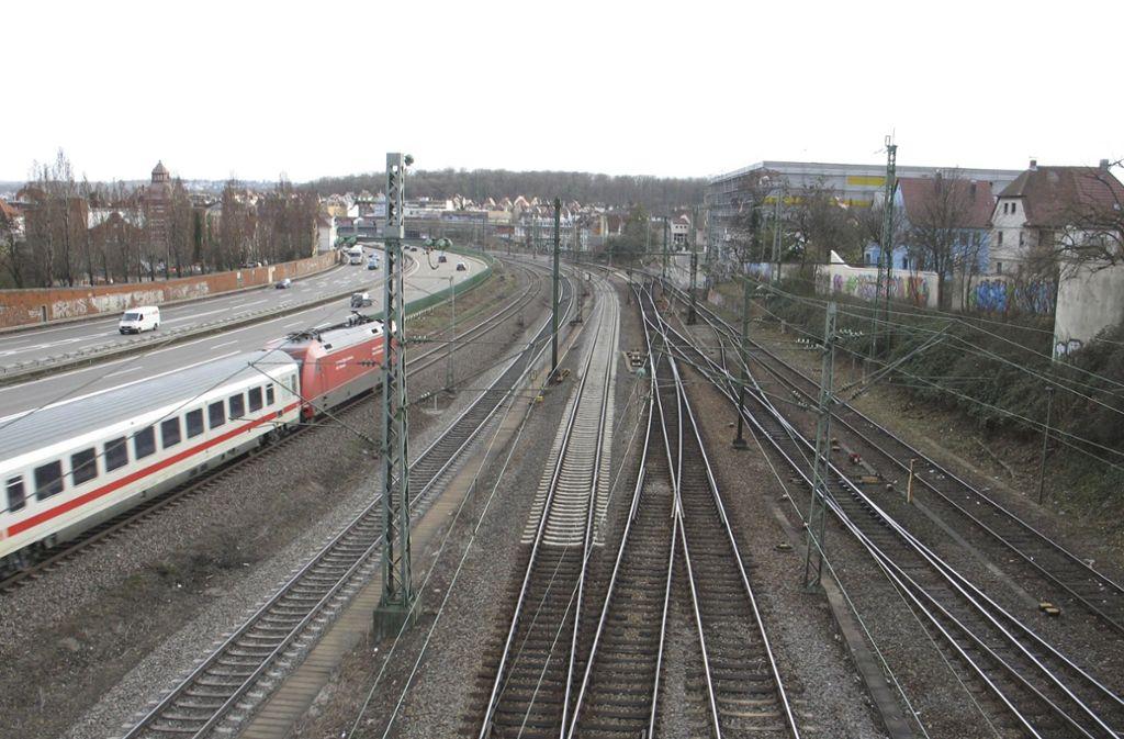 Die Grünen sind der Ansicht, die Bahninfrastruktur im Norden der Stadt müsse ausgebaut werden. Foto: Zeyer