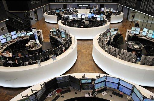 Die Frankfurter Börse will durch die Fusion mit Lonson an die Spitze gelangen.  Foto: AFP