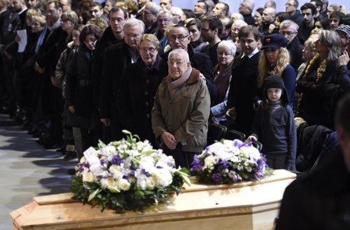 Bewegende Trauerfeier für Charb