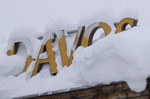 Davos eine Woche vor WEF nicht lawinengefährdet
