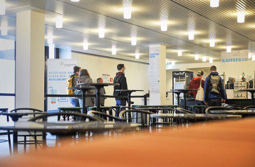 Studierende suchen Lernräume