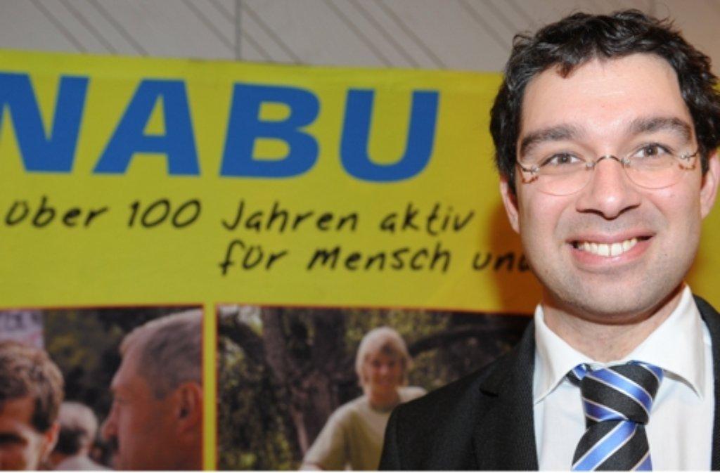 Weist den Verdacht der Käuflichkeit zurück: der Nabu-Landesvorsitzende Andre Baumann. Foto: dpa