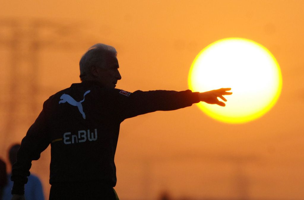 Giovanni Trapattoni wird heute als Trainer der Fußballauswahl der Vatikanstadt geführt. Foto: Baumann