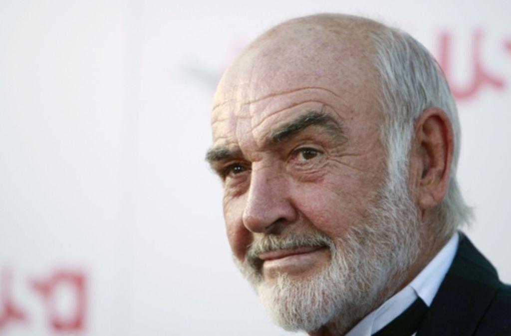 Sean Connery feiert am Dienstag seinen 85. Geburtstag. Foto: AP