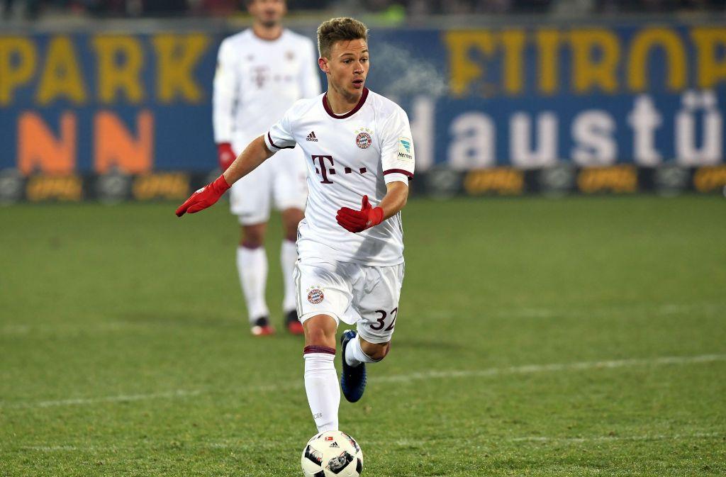 Ein erfolgreicher Stuttgarter Eliteschüler des Sports: Fußball-Nationalspieler Joshua Kimmich Foto: dpa