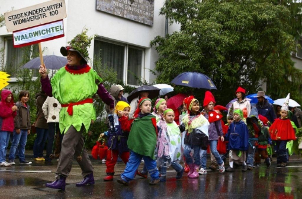 In den vergangenen zwei Jahren war das Kinderfest verregnet. Diesmal stehen die Zeichen auf Sonnenschein. Foto: Archiv Alexandra Kratz