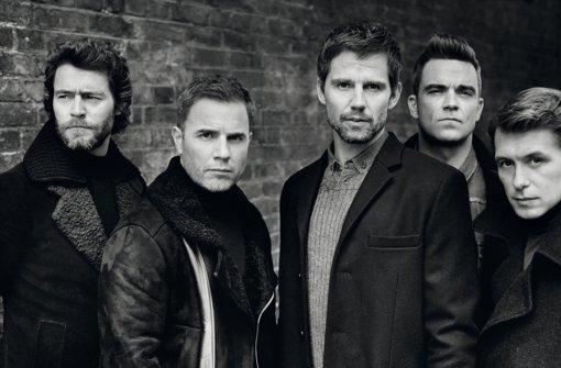 Take That - three and a half men