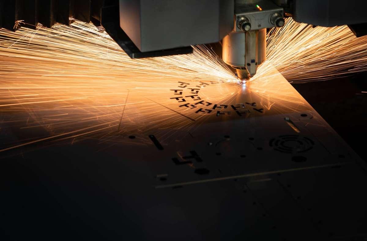 Laserhub verbindet online Kunden und Hersteller von Blechteilen. Foto: