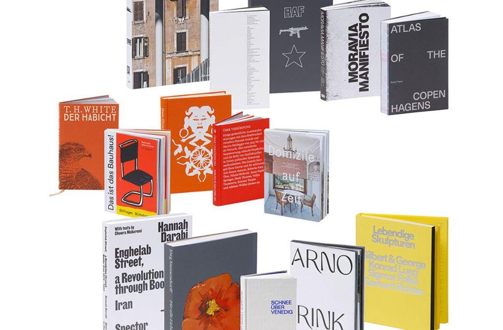 Schönes in allen Sparten: die prämierten Bücher 2019. Die komplette Auswahl finden Sie in unserer Bildergalerie. Foto: Uwe Dettmar