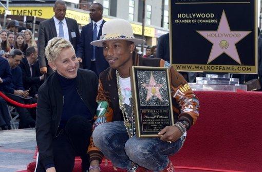 US-Superstar erhält Stern auf dem Walk of Fame