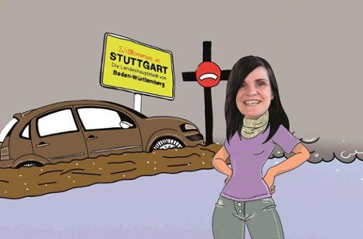Barbara schafft ihr Auto ab