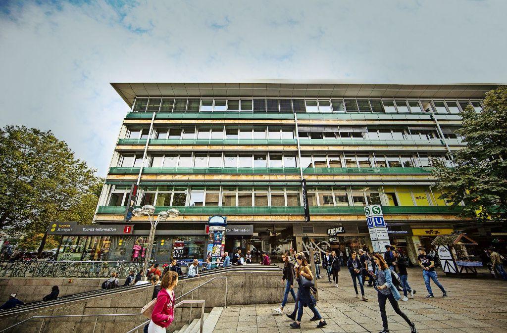 Königstraße 1 bis 3: Eigentümer des Ensembles ist die LBBW Immobilien. In drei bis fünf Jahren soll hier neu gebaut werden. Foto: Lichtgut/Leif Piechowski