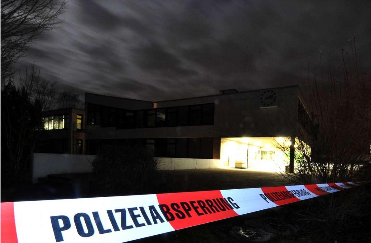 An  der Albertville-Realschule erschoss der 17-jährige Tim K. zwölf Menschen. Foto: dpa