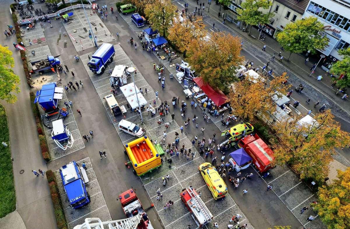 Ein Platz für Veranstaltungen und die Menschen: Dass der Arsenalplatz das sein kann, zeigt beispielsweise das Kastanienbeutelfest. Foto: factum/Archiv