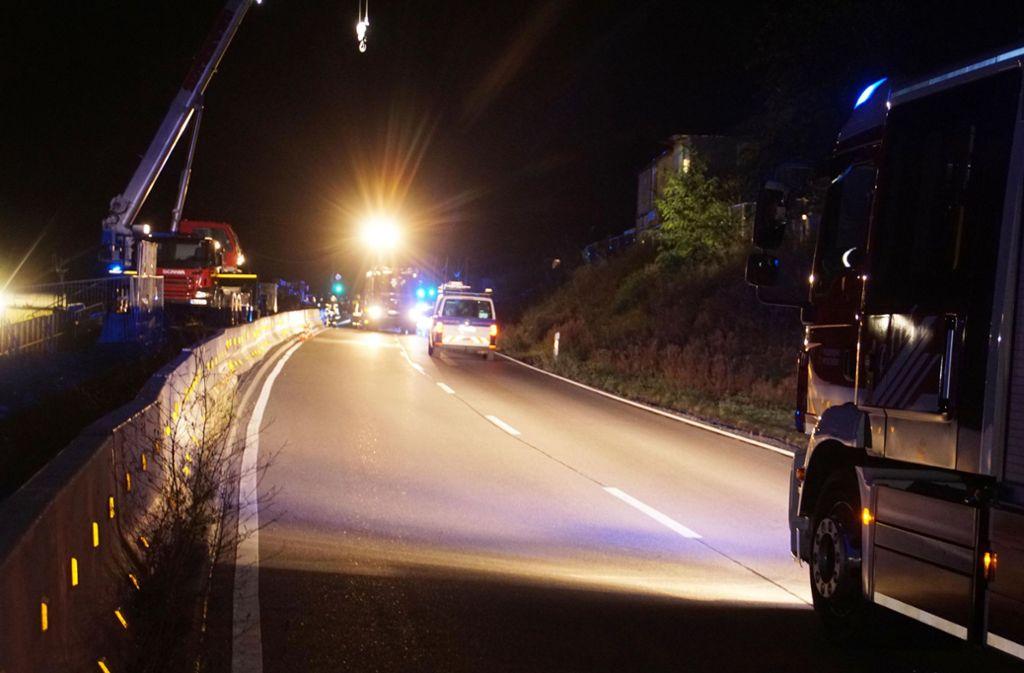 Bei dem Unfall wurde glücklicherweise niemand verletzt. Foto: SDMG/Gress