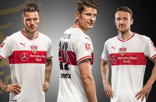 So sieht das neue Trikot des VfB Stuttgart aus