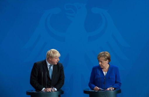 Boris Johnson zu Angela Merkel: Wir schaffen das