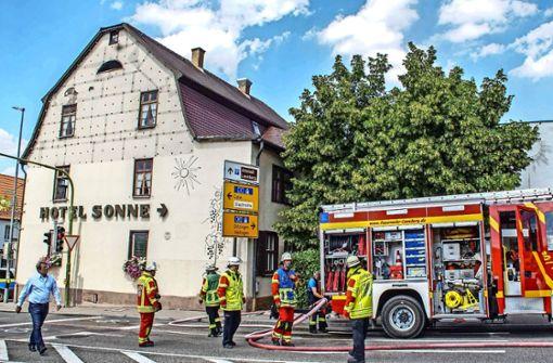 Mehrere Gebäude in der Altstadt  evakuiert