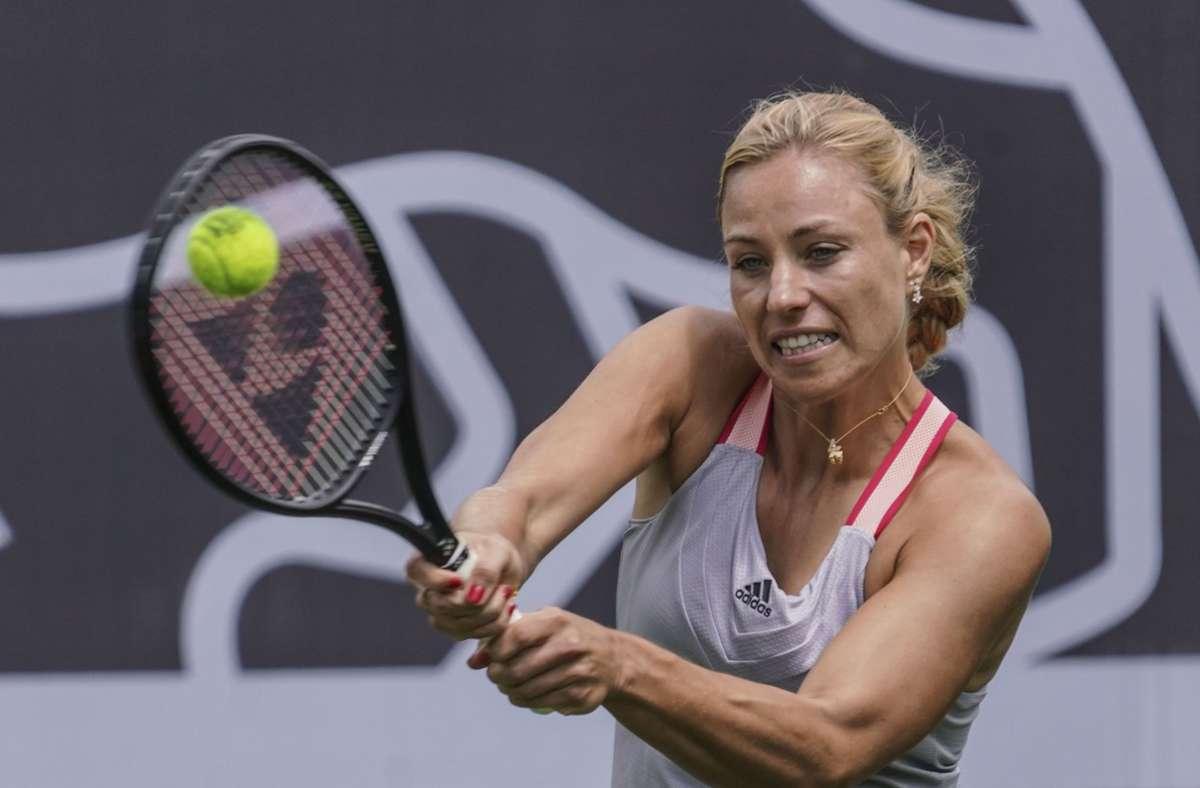 In diesem Sommer tritt Angelique Kerber bei den US Open vielleicht gar nicht an. (Archivbild) Foto: dpa/Frank Rumpenhorst
